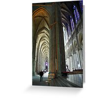 Le Notre-Dame de Reims Greeting Card
