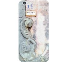 Laureana Cilento: view ornament door iPhone Case/Skin