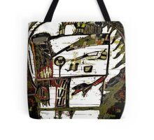 mystery face Tote Bag