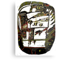 mystery face Metal Print