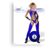 Poolgames 2009 - No. 2 Canvas Print