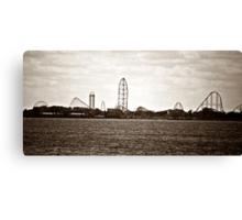 Cedar Point  Canvas Print