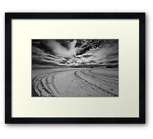 Desolate Sand Framed Print