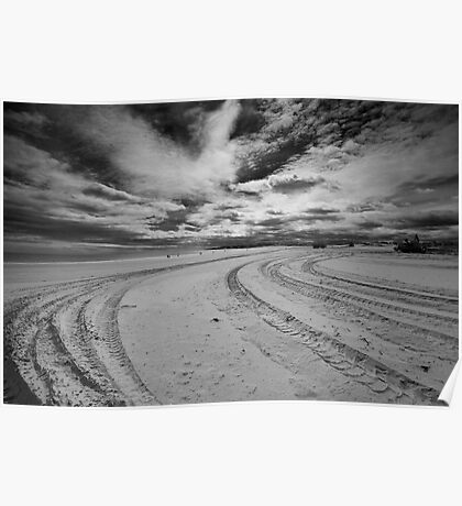 Desolate Sand Poster