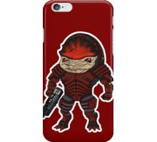 Mass Effect 3: Urdnot Wrex Chibi  iPhone Case/Skin