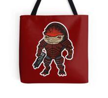 Mass Effect 3: Urdnot Wrex Chibi  Tote Bag
