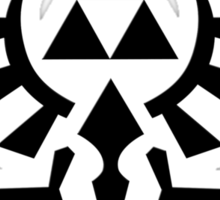 The Legend of Zelda - Hyrule Symbol Sticker