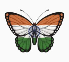 Indian Flag Butterfly Kids Tee