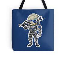 Mass Effect 3: Garrus Vakarian Chibi Tote Bag