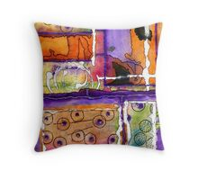 Cheery Thoughts - Warm Wishes Throw Pillow