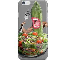 Cucumber salad  iPhone Case/Skin