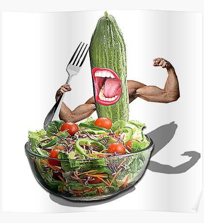 Cucumber salad  Poster