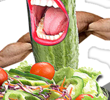 Cucumber salad  Sticker