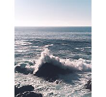 Pacific Coast Wave Photographic Print