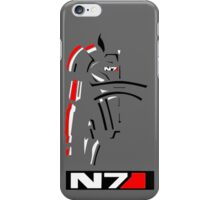 Mass Effect - Shepard N7 Symbol iPhone Case/Skin