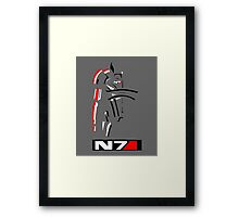 Mass Effect - Shepard N7 Symbol Framed Print