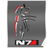 Mass Effect - Shepard N7 Symbol Poster