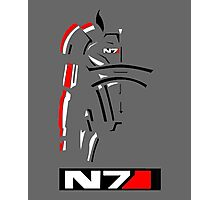 Mass Effect - Shepard N7 Symbol Photographic Print