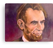 Portrait of Abraham Lincoln Metal Print