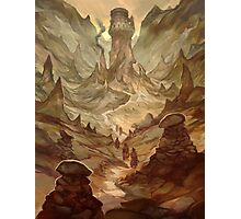Earth Cult Temple Photographic Print