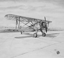 Boeing Stearman primary Trainer by Jack Froelich