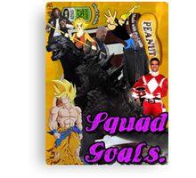 Squad Goals  Canvas Print