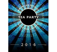 Tea Party 2016 Photographic Print
