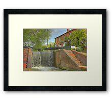 Cottage at Whilton Locks Framed Print