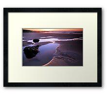 Cove Pool Framed Print
