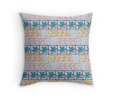 Stars and arrows Throw Pillow