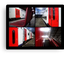 Trainstation Canvas Print