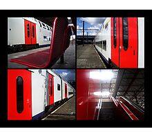Trainstation Photographic Print