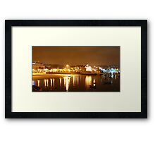Cascais Bay... Framed Print