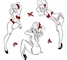 Summer Pinup Pattern  by missupacey