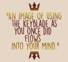 Kingdom Hearts 2 - Limit Form Mirror Quote by JustYou