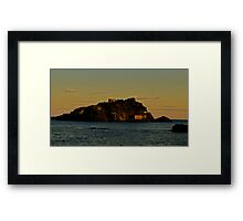 my favourite island Framed Print
