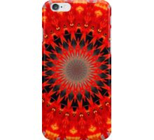 RED CIRCLE iPhone Case/Skin