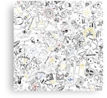 JBU 2015 Portfolio Pattern!  Canvas Print