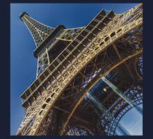 Eiffel Tower 3 One Piece - Long Sleeve