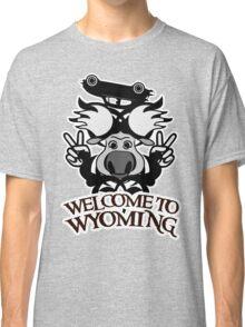 Tribal moose t-shirt Classic T-Shirt