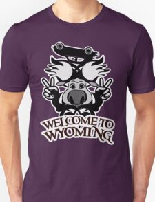 Tribal moose t-shirt Unisex T-Shirt