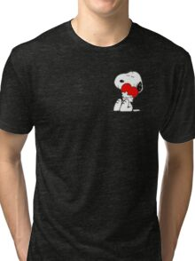 Snoopy lovely Tri-blend T-Shirt