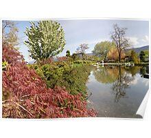 Penticton Japanese Garden  Poster