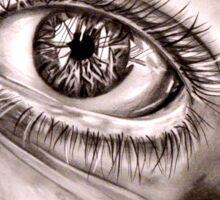 Open Your Eye(s) Sticker