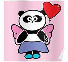 Betsy heart balloon Poster