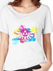 Watercolor Hyrule Women's Relaxed Fit T-Shirt