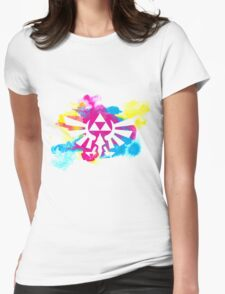 Watercolor Hyrule Womens Fitted T-Shirt