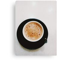 simple coffee time Canvas Print