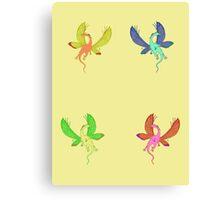 Dragon-Fly Canvas Print
