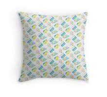 POWERRR Throw Pillow